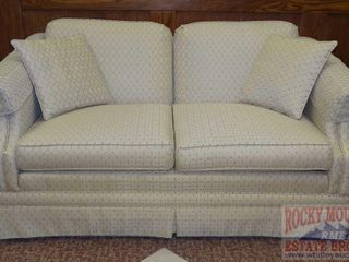 Very Clean Upholstered Love Seat.