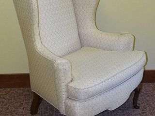 Classic High Quality Wing Back Chair.