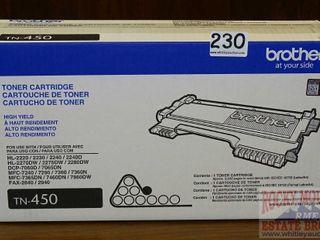 New Brother TN-450 High Yield Toner Cartridge.
