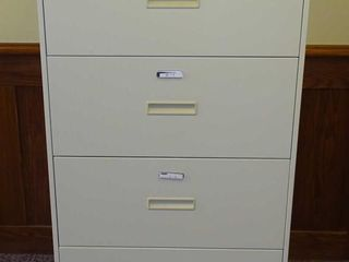 Hon 4 Drawer Lateral File.