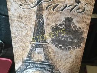 Canvas Eiffel Tower Picture - 2' x 3'