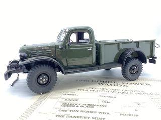 1946 Dodge Power Wagon Die Cast Replica