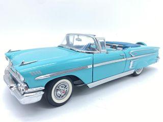 1958 Chevrolet Impala Convertible Die Cast Replica