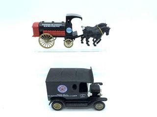 Standard Oil horse drawn Kerosene Tanker