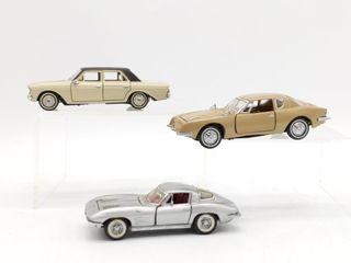 (3) Franklin Mint Precision Models : Studebaker,