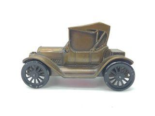 Cast Metal Car Bank