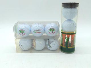 Golf Ball Sets and Tees