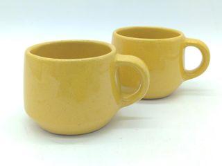 """(2) Frankoma Mugs - 3"""" & 3"""""""