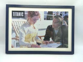 """Framed """"Titanic"""" Movie Poster"""