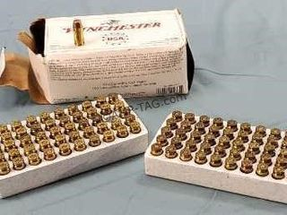 Box of 100 Winchester 40 S&W 165gr. FMJ Ammo