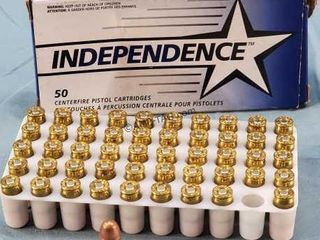Box of 50 Independence 380 Auto 95gr FMJ Ammo