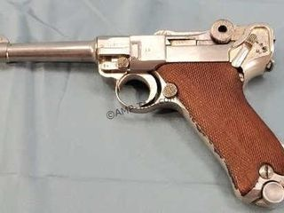 German Luger 9mm Pistol P08