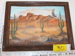 Darlene Hewitt Original Desert Painting