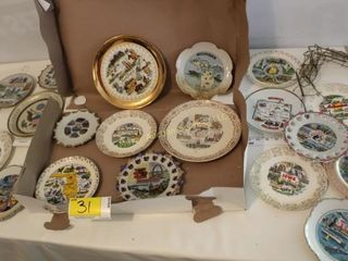 Misc Vintage State Plates & holders