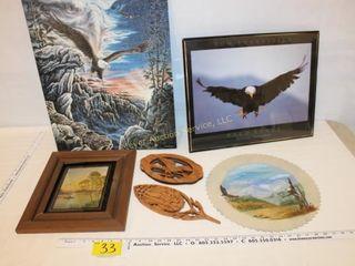Eagle Pieces & Decor