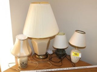 4 Lamps
