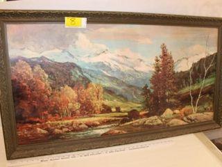 Vintage Landscape Art