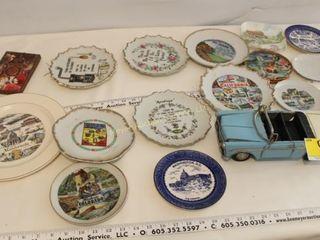 Souvenir & Decorative Plates and Car