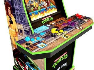 Arcade1Up - Teenage Mutant Ninja Turtles Arcade Game Machine with Riser