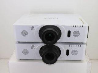 (2) Hitachi Projectors **See Description**