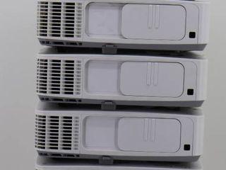 (6) NEC PE401H Projectors *Parts*