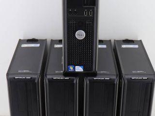 (5) Dell Optiplex 380
