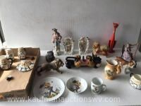 Selection of figurines