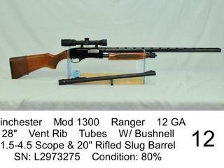 Winchester    Mod 1300    Ranger    12 GA    28