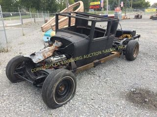 INCOMPLETE HOMEMADE RAT ROD -PARTS ONLY NOT TITLED