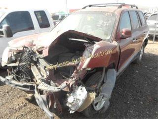 2002 Hyundai Santa Fe KM8SC73D72U287805 Red
