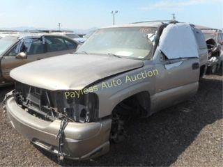 2001 Chevrolet Tahoe 1GNEK13T11J152092 4DSW