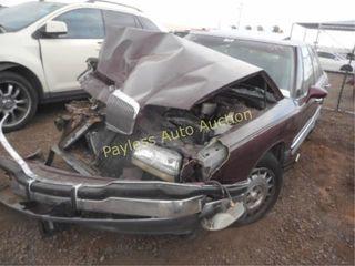 1992 Buick Park Avenue 1G4CU5310N1618452 Maroon