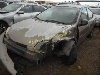 2000 Dodge Neon 1B3ES46C2YD757755 Tan