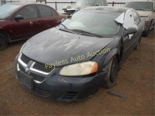 2006 Dodge Stratus 1B3AL46T86N221119 Blue