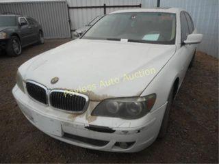 2006 BMW 7 Series WBAHN83576DT27018 4DSD