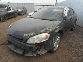 2007 Chevrolet Impala 2G1WB55K979175772 4DSD