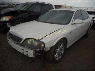 2004 Lincoln LS 1LNHM87AX4Y646508 4DSD