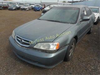 2000 Acura TL 19UUA5669YA049311 4DSD