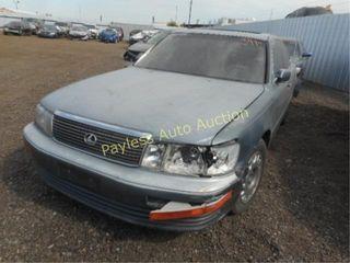 1991 Lexus LS 400 JT8UF11EXM0092075 4DSD