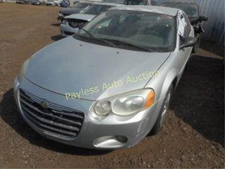 2005 Chrysler Sebring 1C3EL66R15N543314 Silver