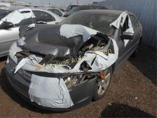 2007 Ford Fusion 3FAHP07167R111830 Grey