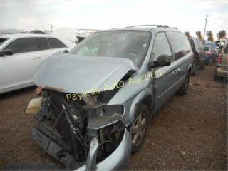2006 Dodge Grand Caravan 2D4GP44L26R856990 Silver