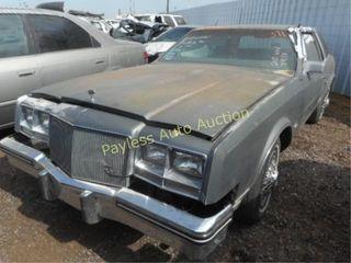 1985 Buick Riviera 1G4EZ57Y3FE404163 Gray