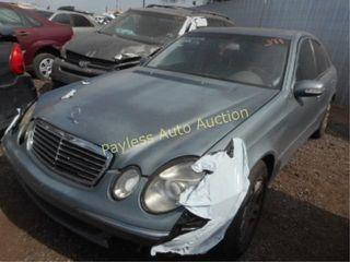 2004 Mercedes E-Class WDBUF65J44A459387 Gray