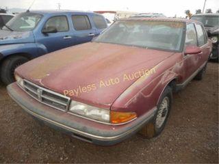 1987 Pontiac Bonneville 1G2HZ5133HW203296 4DSD