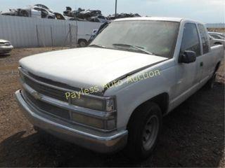 1996 Chevrolet C1500 2GCEC19MXT1122835 PU