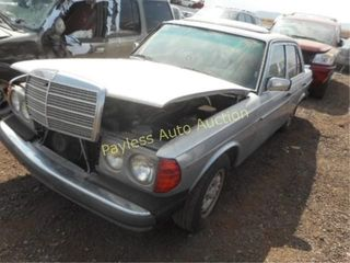 1984 Mercedes 300 WDBAB33A7EA180016 4DSD