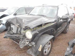 2003 Jeep Liberty 1J4GL48K73W652161 Black