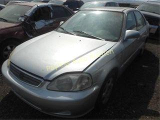 1999 Honda Civic 2HGEJ8644XH523640 4DSD