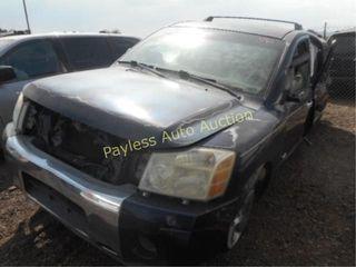 2006 Nissan Armada 5N1AA08AX6N737017 4DSW